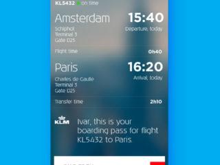 The KLM App