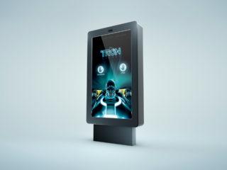 TRON Legacy Kinect street game